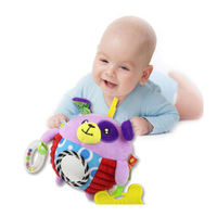 Baby Rattles Ball Grasping Baby Fun Ball Cute Plush Soft Cloth Hand Rattles Education Toys