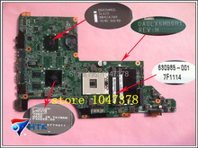 Wholesale 630985-001 FOR HP Pavilion DV7 DV7-4000 PM system board HM55 Laptop Motherboard DA0LX6MB6H1 100% Work Perfect