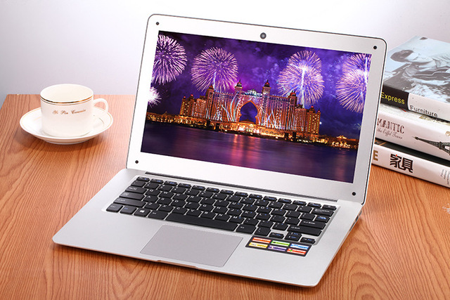 Gifts The cheapest 14inch laptop 2G 32G multi language activated windows OS 10 laser keyboard CDEK russian free shipping camera