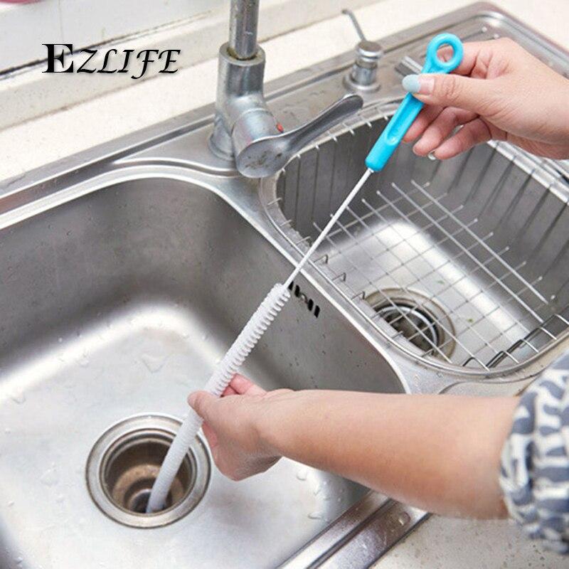 Cm Flexible Cleaning Brush Sink Overflow Drain Unblocker Cleaner - Bathroom sink overflow drain clogged
