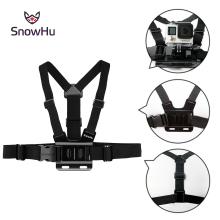 цена на Gopro Accessories Adjustable Chest Strap Belt Body Tripod Harness Mount For Gopro Hero 5 4 3+2 1 SJCAM Xiaomi Yi Camera GP27