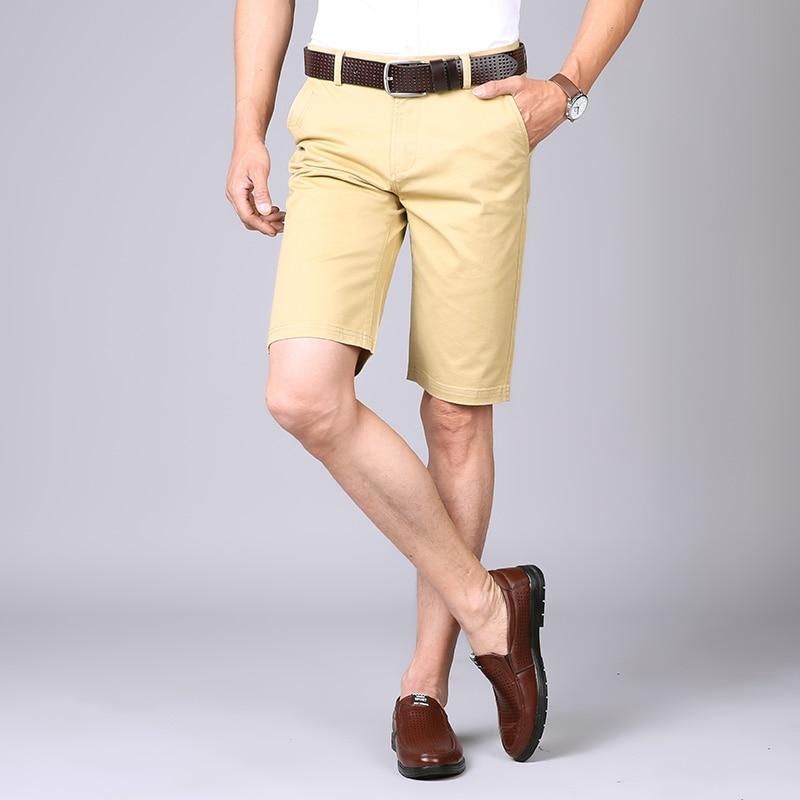 Herrenbekleidung & Zubehör Nigrity 2019 Sommer Neue Männer Grundlegende Shorts Smart Casual Fashion Taschen Einfarbig Schwarz Blau Khaki Große Größe 28-40 SchnäPpchenverkauf Zum Jahresende