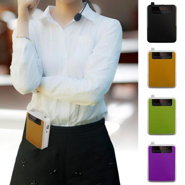 Mini amplificador de voz K300 altavoz de Audio portátil altavoz de Audio amplificador de voz recargable para profesores entrenadores de canto