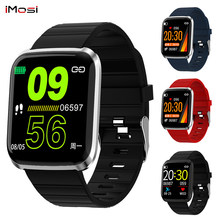116 PRO Color Screen Smart Bracelet Bluetooth Smart Watch Wristband Fitness Tracker Heart Rate Monitor for Android IOS(China)