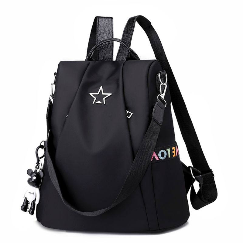 2019 New Women Backpack Purse Waterproof Nylon Anti-theft Rucksack Lightweight School Shoulder Bag2019 New Women Backpack Purse Waterproof Nylon Anti-theft Rucksack Lightweight School Shoulder Bag