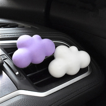 1 Piece Car Outlet Cute Decorations Ornament Cloud Shape Air Conditioning Without Perfume