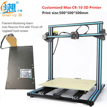 2017 Latest Various Optional 3D Printer Dual-Leading-screws Rod CR-10 3D Printer Auto Resume Print after Power off/Filament