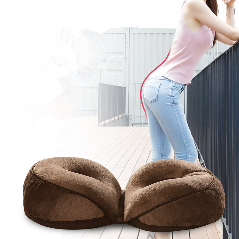 Office Chair Pillow Best Table And Sets For Toddlers 1pcs 46x31x10cm Creative Magic Beautiful Soft Buttock Cushion Hip Body Sculpting ...