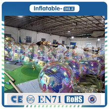 2019 Popular inflatable mirror ball, Colorful reflective ball, inflatable mirror balloon for events decoration new colorful lighting inflatable jellyfish balloon for decoration