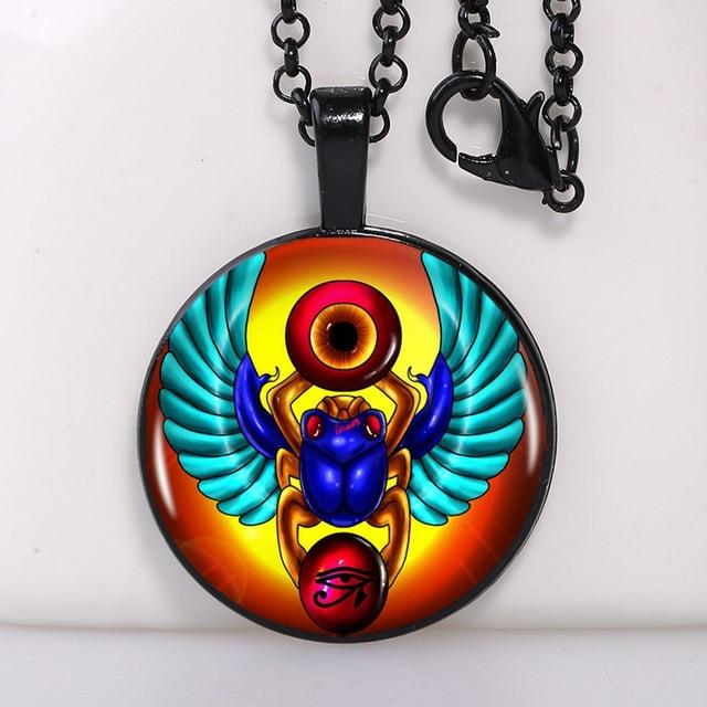 Online shop 2016 fashion egyptian scarab pendant ancient egypt 2016 fashion egyptian scarab pendant ancient egypt jewelry egypt necklace egyptian jewelry4 colors for choosing aloadofball Choice Image