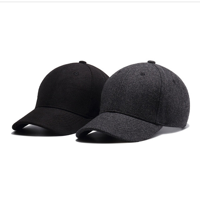 cd993d4dede  FLB  Autumn And Winter Baseball Cap Cotton warm Sports Solid hats leaf  sport cap for men and women Father s Best Gifts Hats