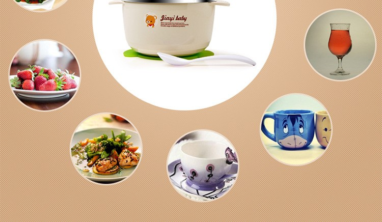 brand stainless steel baby bowls