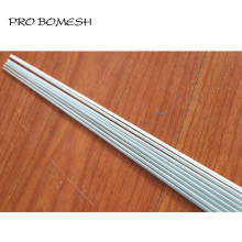 Pro Bomesh 5 PCS/Lot 44.7 cm-58 cm 1 Section solide Fiber de verre glace tige blanc radeau tige pointe réparation pointe bricolage tige bâtiment réparation(China)