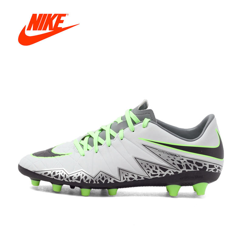 NIKE HYPERVENOM PHELON II Men's Light Comfortable Football Shoes Soccer Sneakers kelme football shoes boots for adult children 30 39 train sneakers tobillera soccer cleats zapatillas deporte light soft flats49