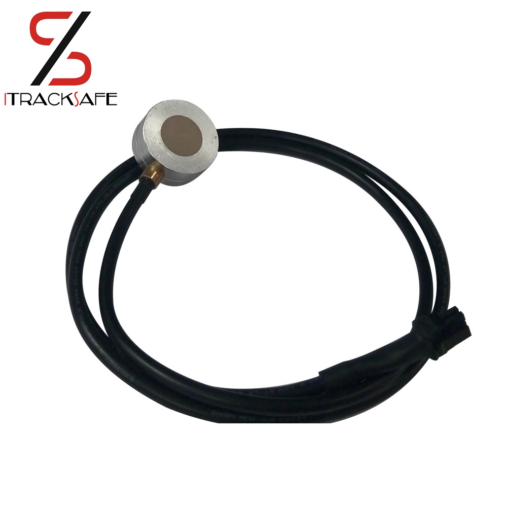 Integrate Ultrasonic Fuel Level Sensor with display for gps tracker measuring water Diesel Petro no need drill hole on fuel tank