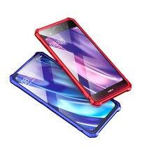 For Vivo NEX Dual Display Bumper Case Aluminum Alloy Metal Frame Bumper Cover for Vivo Nex 2 Nex2 Case Shockproof Capa 6.39'' стоимость