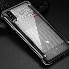 Per Xiaomi Mi 10 Pro /POCO X2 Pro/Mi 9T/ Redmi K20 pro/blackshark 3 di alluminio del respingente del metallo Sottile Della Copertura Della cassa del telefono