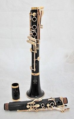 Groovy Buffet Crampon Vintage Model Bb Clarinet With Gold Plated Interior Design Ideas Gresisoteloinfo