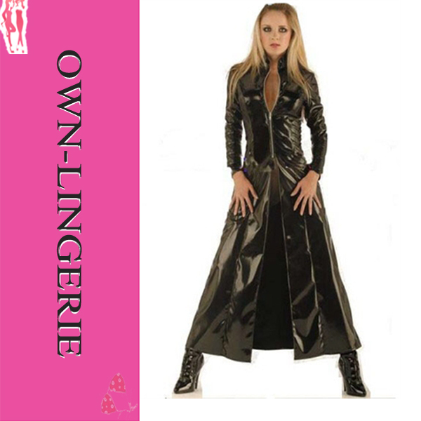 Online Buy Wholesale women full length leather coat from China ...