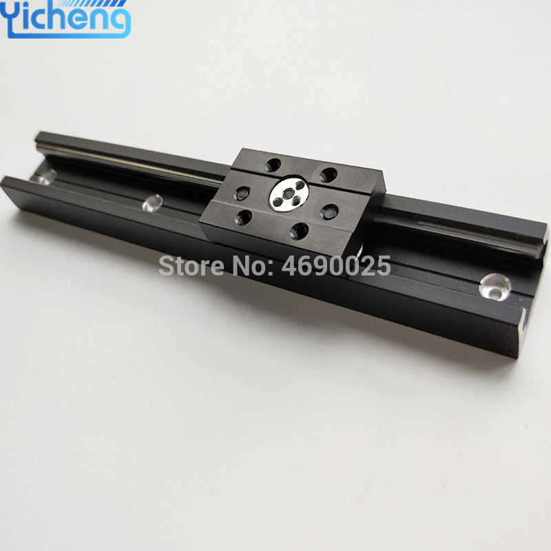 Suku Cadang Mesin Linear Guide SGR10 dengan Linear Slide Kereta SGB10UU Linear Bearing Blok Kit CNC Router Linear Rail