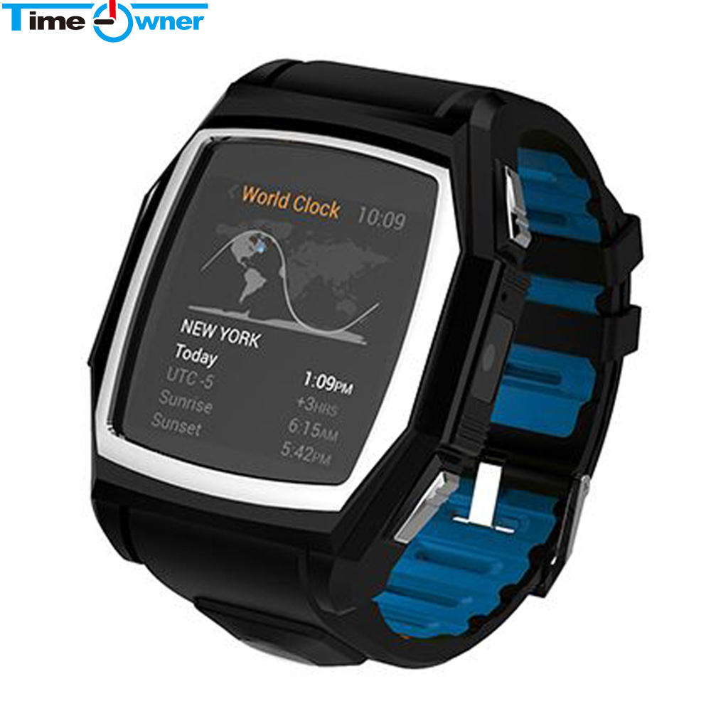 TimeOwner Smart Watch Android NFC GPS Watch Smartwatch G-Sensor HD Display Waterproof for IOS Android Smart Electronics