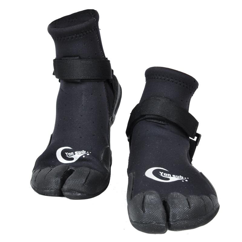 YONSUB 3 MM homme & femme en caoutchouc bottes de plongée en plein air Ski nautique Surf Wading chaussures anti-dérapant à séchage rapide Aqua chaussures chaussures d'eau