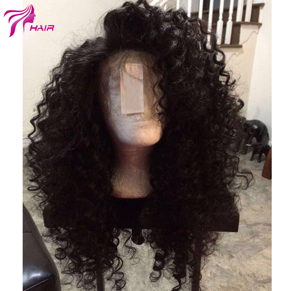 Silk Top Lace Front Wig Curly Human Hair Silk Base Wigs