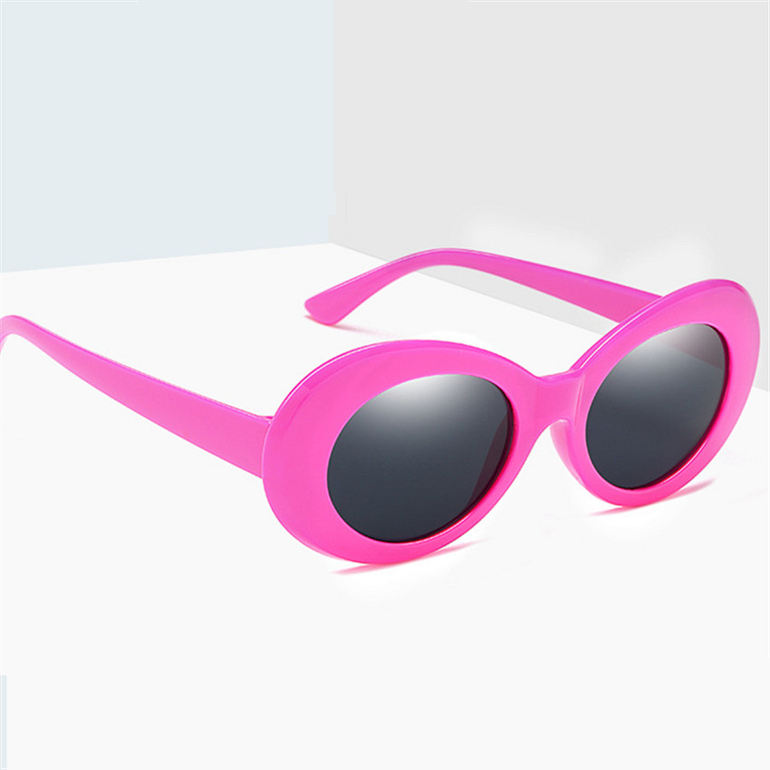Clout Goggles Retro Sunglasses Women Red Pink Vintage Round Sexy Sun Glasses Kurt Cobain UV400 Eyeglasses Goggles