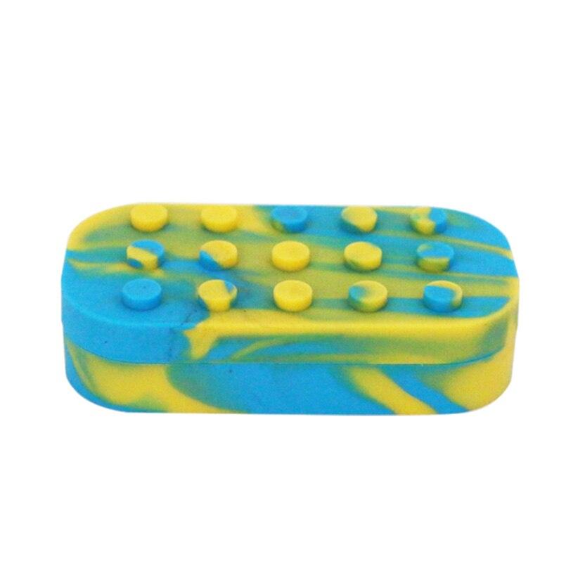 Silikonové silikonové voskové / butanové / koncentrátové nádobky s olejem a Slickovým olejem silikonové nádoby a dabované voskové nádoby