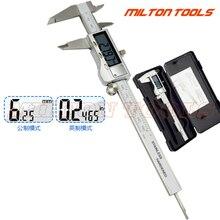 Высокое качество 0-50 мм 150 мм 200 мм 300 мм металлический корпус цифровой штангенциркуль Электронный штангенциркуль измеритель глубины микрометрический инструмент