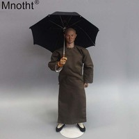 Mnotht 1/6 Sence Black Umbrella Model ZY3003 Accessories Huang Feihong Prop Annex Toy for 12 Inch Soldier Action Figure m6n