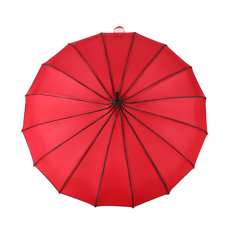 Image 4 - Tower Pagoda Umbrella For Women long Handle Gothic Classical Parasol Creative Tower Pagoda Windproof Sunny And Rain Umbrellas-in Umbrellas from Home & Garden