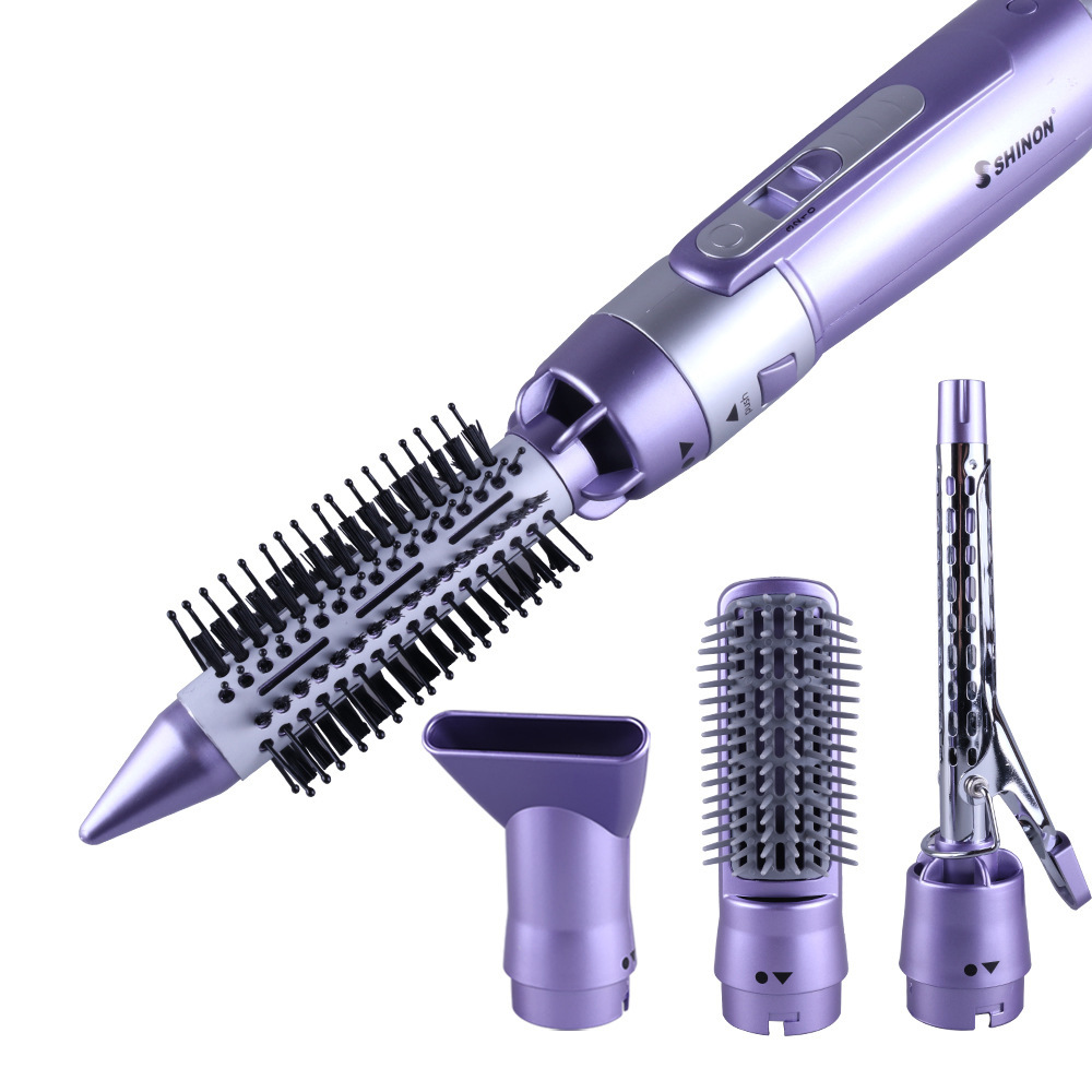 Professional hair dryer Electric Straight hair Brush Comb Rechargeable Hair curler Brush Straightener Curling Irons Styling Tool professional hair dryer electric straight hair brush comb rechargeable hair curler brush straightener curling irons styling tool