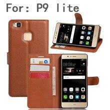 Телефонные чехлы обложки для huawei P9 Lite VNS-L31 VNS-L21 VNS-L22 VNS-L23 VNS-L53 Флип Кожаный чехол Чехол-книжка бумажник держатель для карт