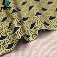 Imported Moire Printed Cotton Bronzing Cloth Classical And Wind Decorative Fabrics Tang Suit Han Clothing Teas