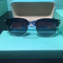 2019 New Fashion Semi Rimless Polarized Sunglasses Men Women