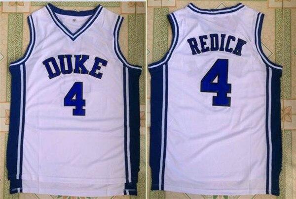 f2e6afa50 JJ Redick  4 Duke Blue Devils College Throwback Basketball Jersey Stitched  Size S-XXL