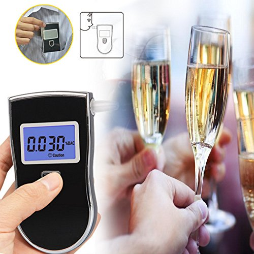 2018 NEW AT-818 Professional Police Digital Breath Alcohol Tester Breathalyzer AT818 Hot selling Drop shipping цена