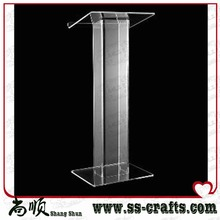 Free Shipping Excellent quality best selling cheap knockdown acrylic lectern