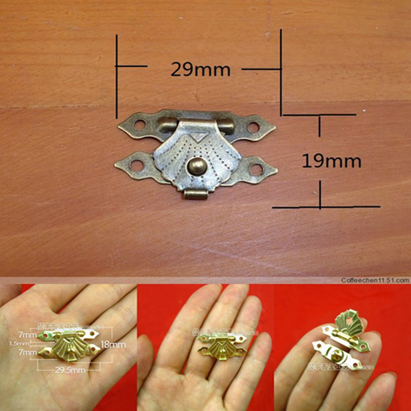 Free shipping New Wholesale Metal jewelry box hardware Decorative