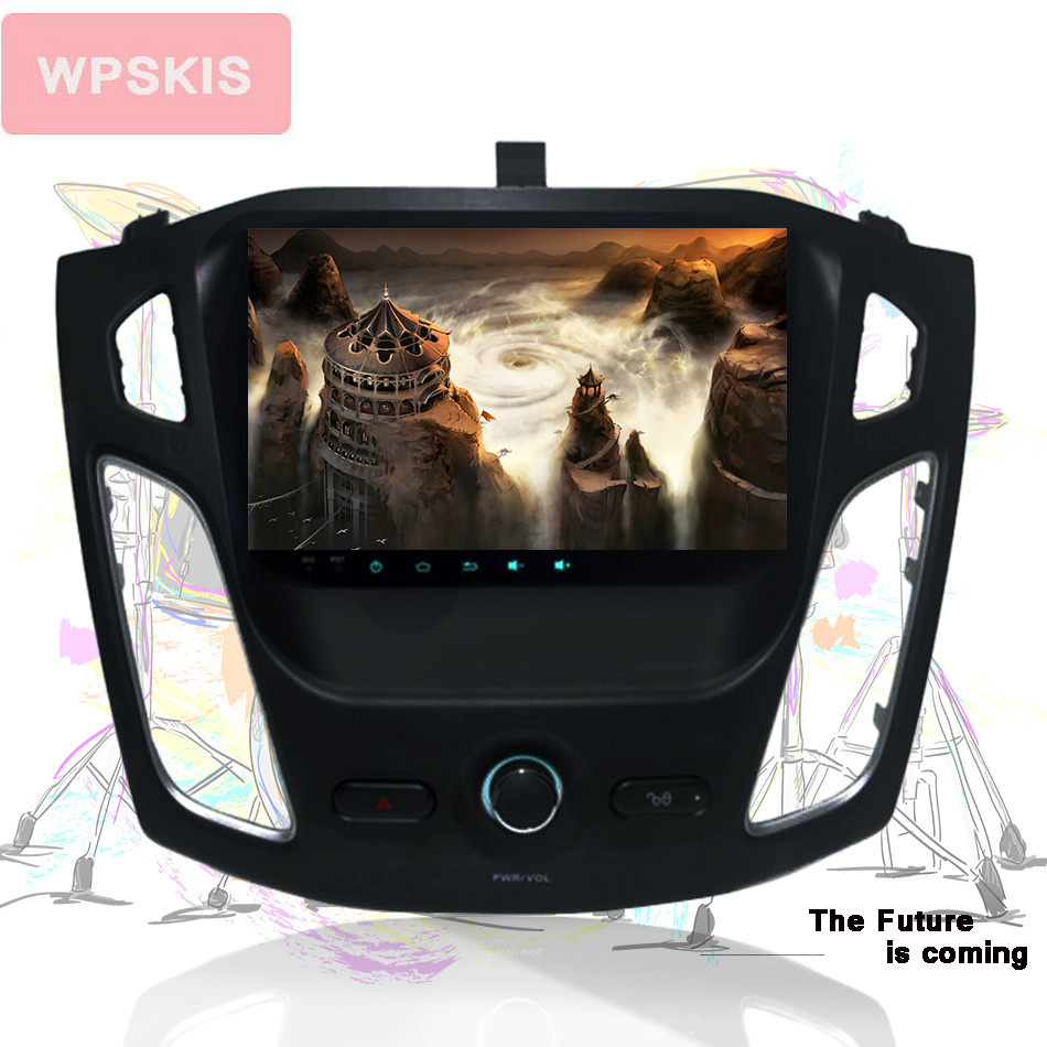 For Ford Focus 2011 auto gps navigation music pc tape unit multimedia with 3 4g wifi