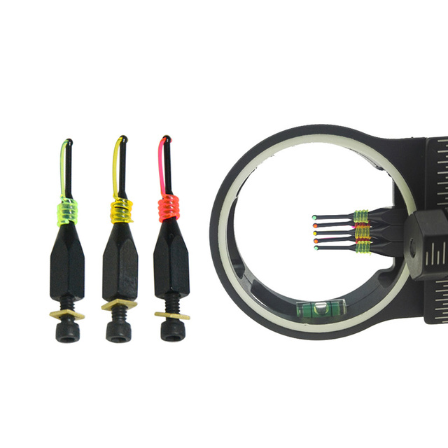 Bow Sight Aiming Needle Accessories 3colors Bow and Arrow Aiming Needle Three Colors OptionalUsed on Composite Bow Sights