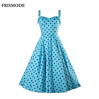 In The Spring Of 2016 European Printing Sling Sleeveless Dress Wave Slim Fit In The Long