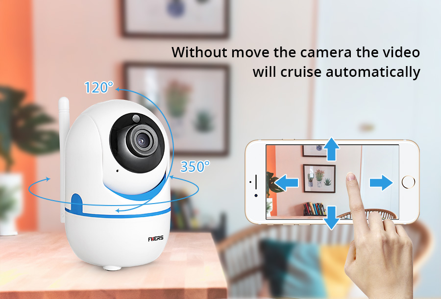 Fuers Mini Wireless Dual HD 720P 1080P IP Camera 2.0MP WIFI IP Camera Mail Alert Alarm P2P CCTV Onvif Surveillance Camera IR CUT|p2p cctv|1080p ip|wifi ip - title=