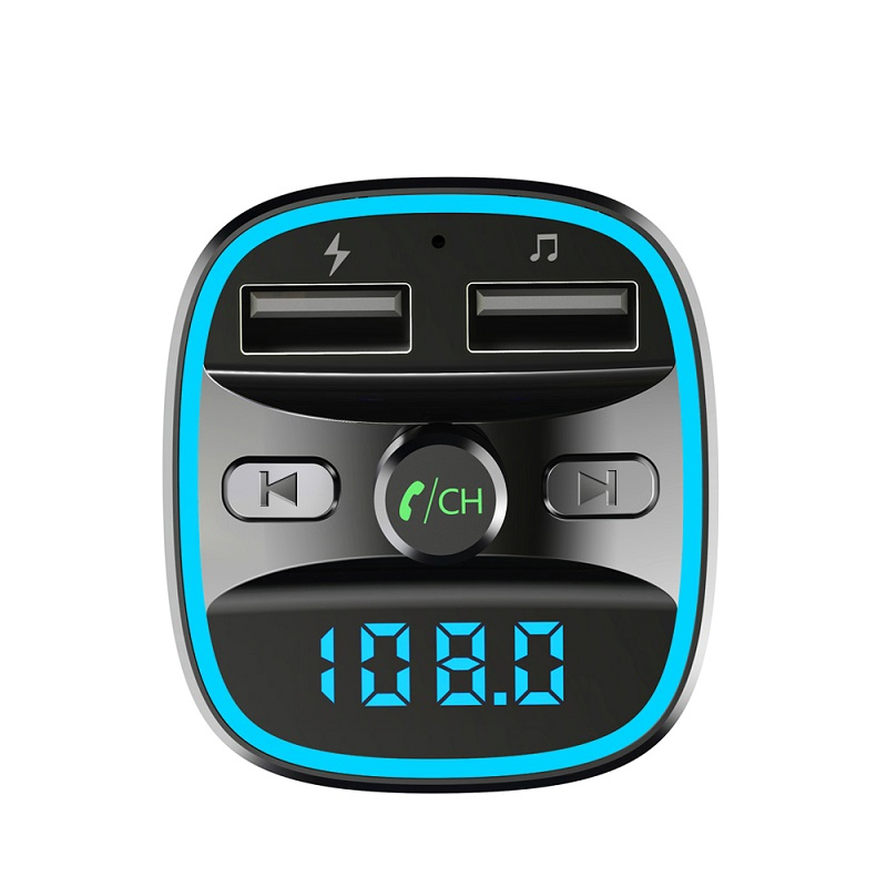 Image 3 - Bluetooth 5.0 car mp3 music player FM receiver transmitter Dual USB car quicky charger U disk / TF card lossless music player-in Convertible Accessoires from Automobiles & Motorcycles