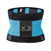 Dropshipping Waist Trimmer Belt Tummy Shaper Slim Body Women Trainer Neoprene Cincher Slimming