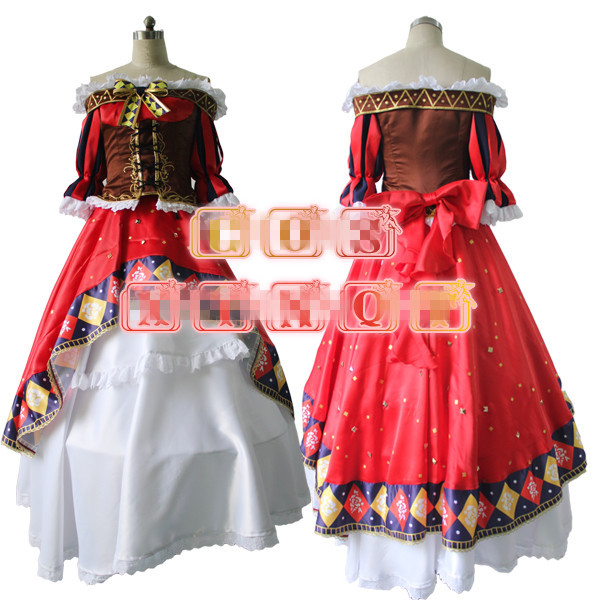 Аниме Love Live! Нозоми Тодзио маг школа идол проект пробудить форма Cos Косплэй костюм платье