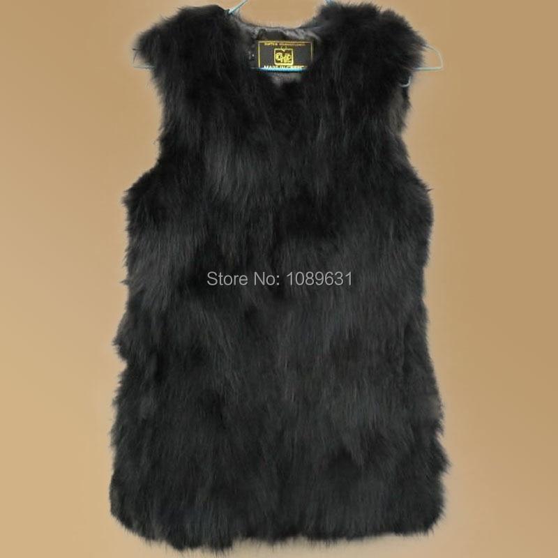 Colete De Pele do inverno Mulheres Natural Raccoon Dog Fur Vest Para As  Mulheres Reais Casacos De Peles Coletes Colete Frete Grátis 95c9ef6e1af64