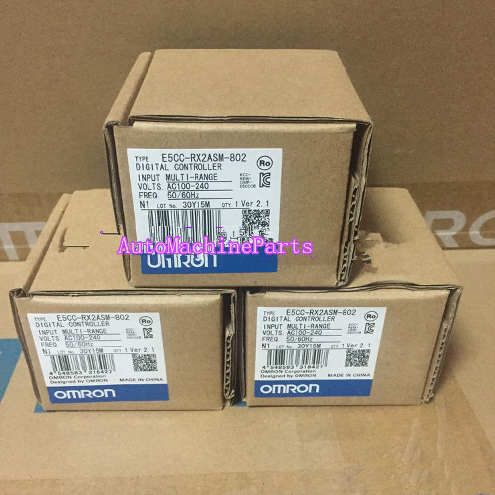 1PC New in Box For Omron Temperature Controller E5CC-RX2ASM-802 dtb4848cr delta temperature controller new in box