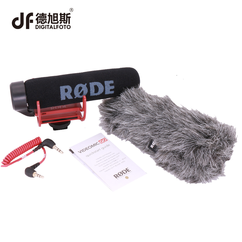 DIGITALFOTO Authentic Rode Microphone VM GO VideoMic GO On Camera  Microphone for Video DSLR DV smartphone Camcorder